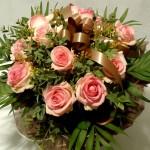 Bouquet Rond fleur Deuil