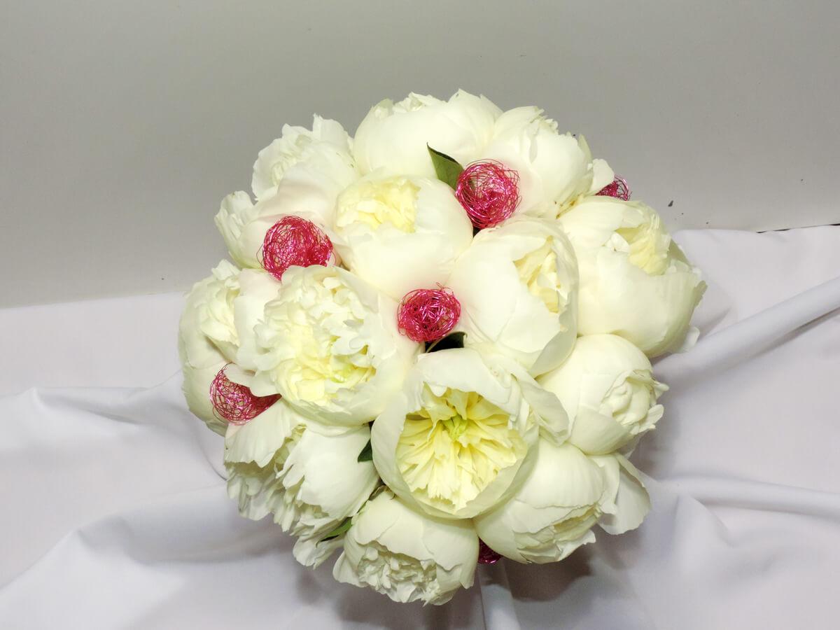 Les fleurs de votre mariage fan de fleurs - Bouquet pivoine mariage ...