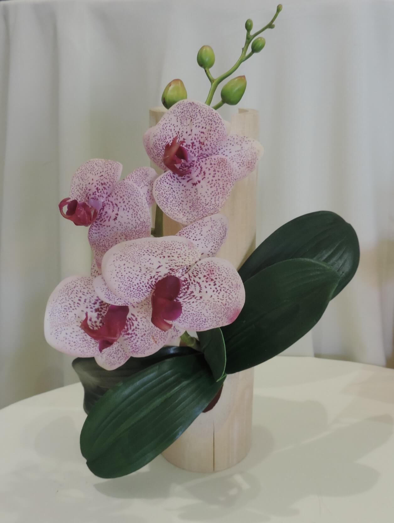 orchid es artificielles sur bois flott fan de fleurs. Black Bedroom Furniture Sets. Home Design Ideas
