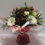 Bouquet rond spéciale saint valentin